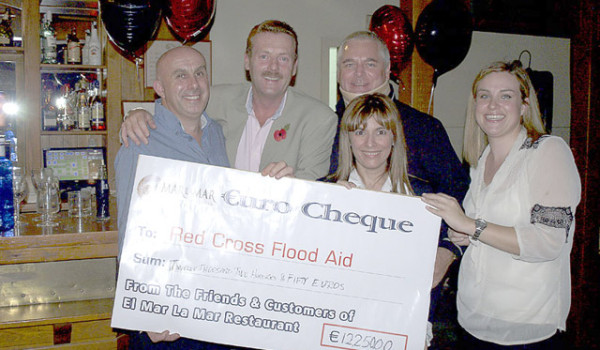 Flood Aid Dinner Dance raises €12000